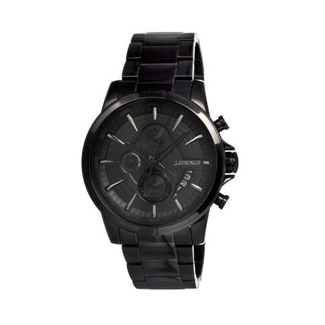 Quartz Chronograph Black // JSPBFD057