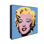 Andy Warhol // Shot Blue Marilyn, 1964
