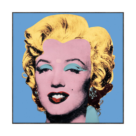 Andy Warhol // Shot Blue Marilyn, 1964