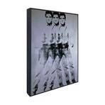 """Triple Elvis, 1963 (17""""L x 12.5""""H x 2""""D)"""