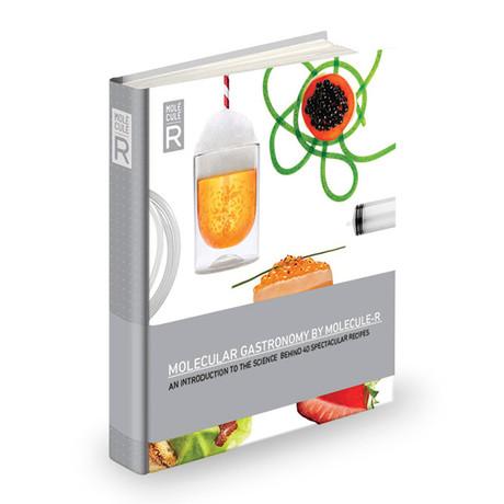 Molecular Gastronomy Recipe Book + 4 Spoons