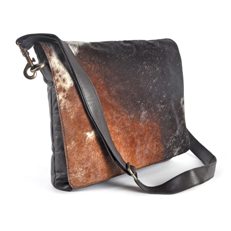 Cowhide Leather Messenger Bag Tod