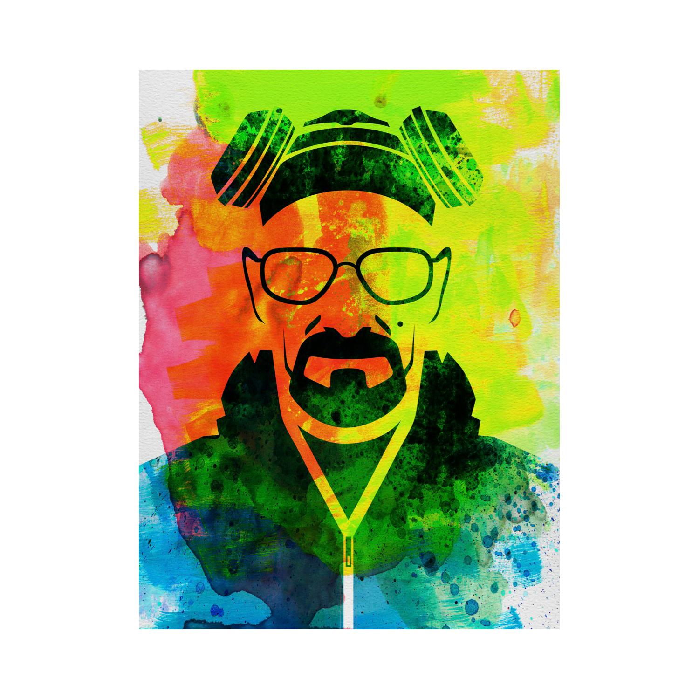 "Walter White Breaking Bad (15""L x 20""H) - NaxArt Watercolor ..."