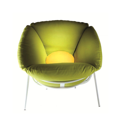 Bloom Armchair // Green