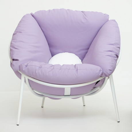 Bloom Armchair // Violet