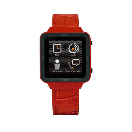 SmartWatch™ // Red