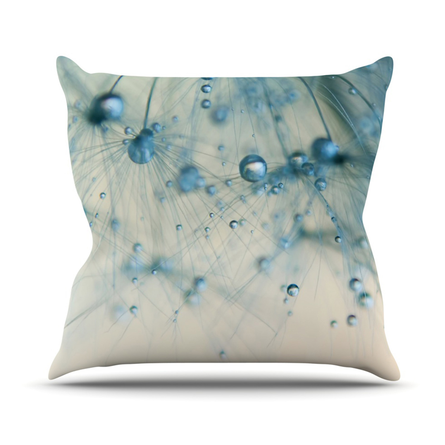 Decorative Pillow With Pearls :