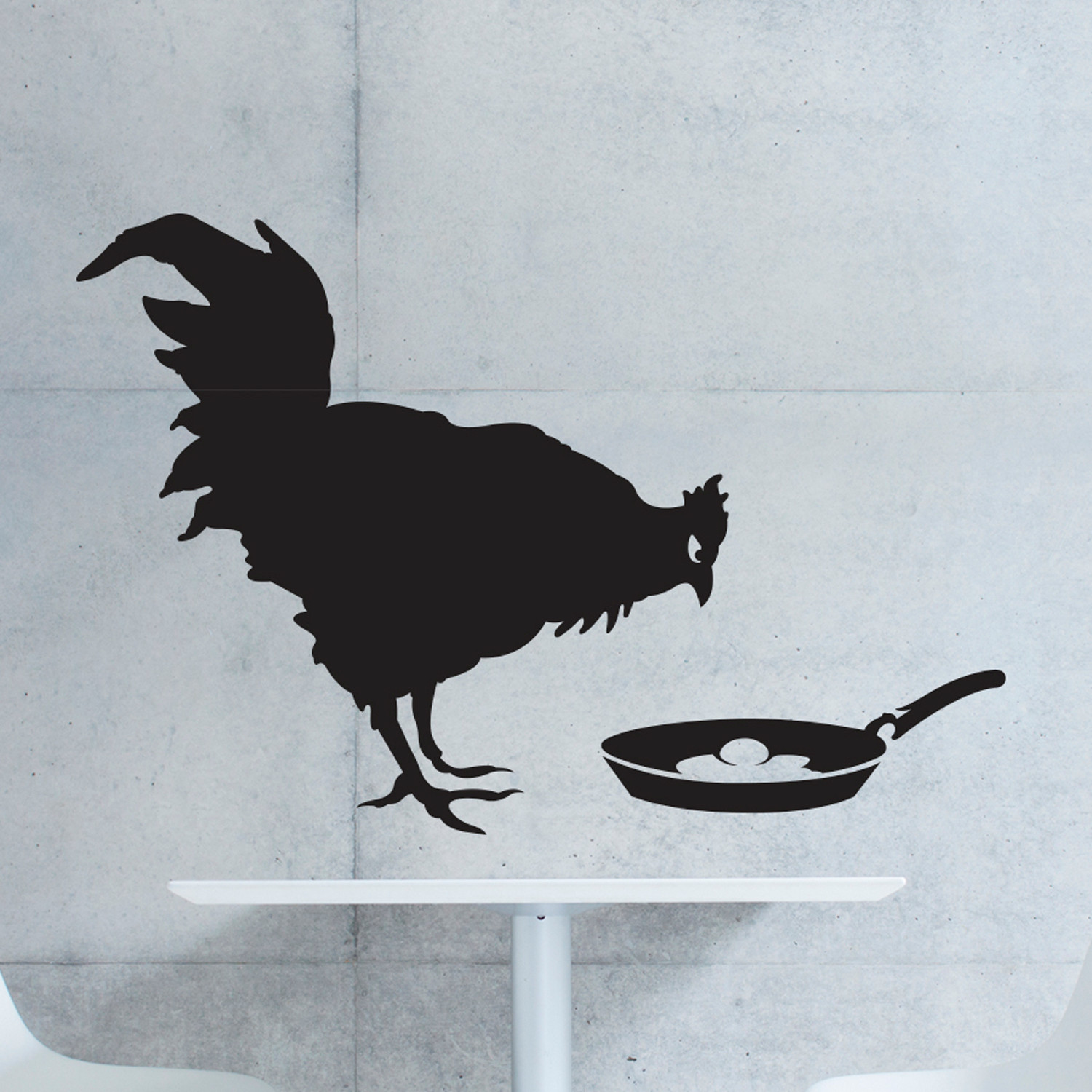 Chicken or the Egg - Walls Need Love - Touch of Modern