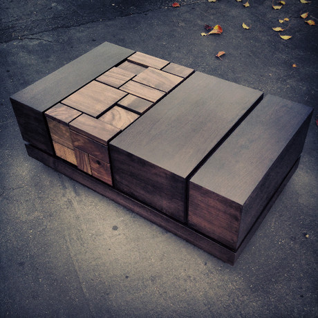 Abaci Dark Walnut II // Coffee Table