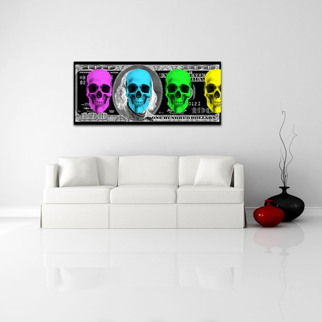"""Skeleton Cash (10"""" x 24"""") - Crush Collective - Touch of Modern"""