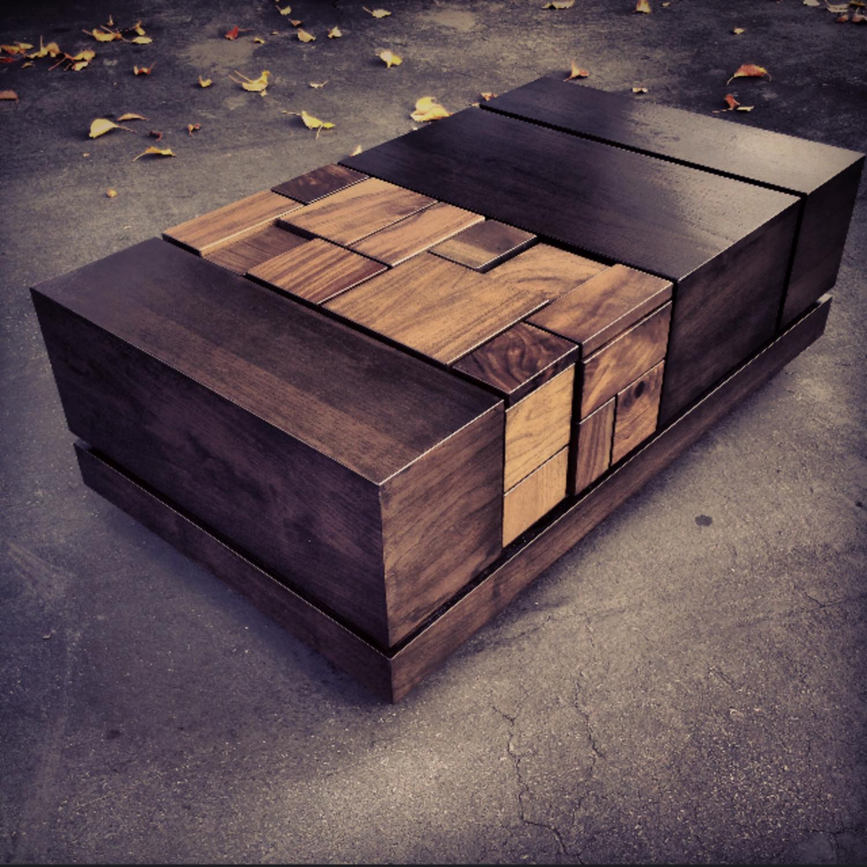 Abaci Dark Walnut II Coffee Table MSTRF Touch of Modern