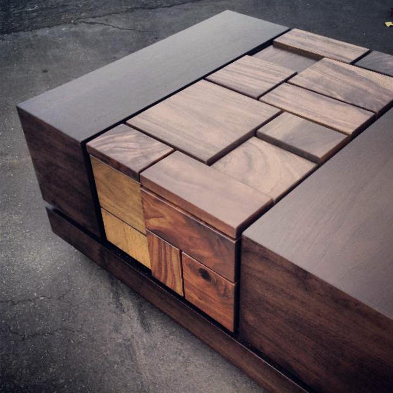 abaci dark walnut ii // coffee table - mstrf - touch of modern