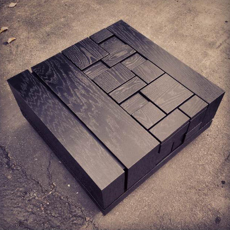 abaci black 34 // square coffee table (standard finish) - mstrf