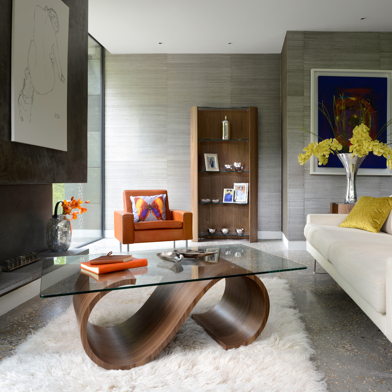swirl coffee table tom schneider touch of modern
