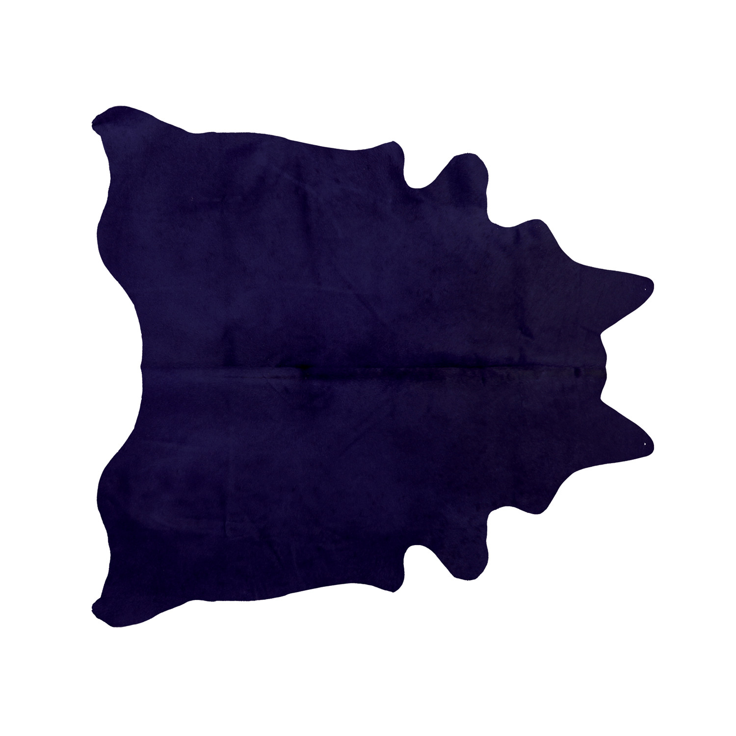 Geneva Cowhide Rug Purple 6 X 7 Natural Rugs