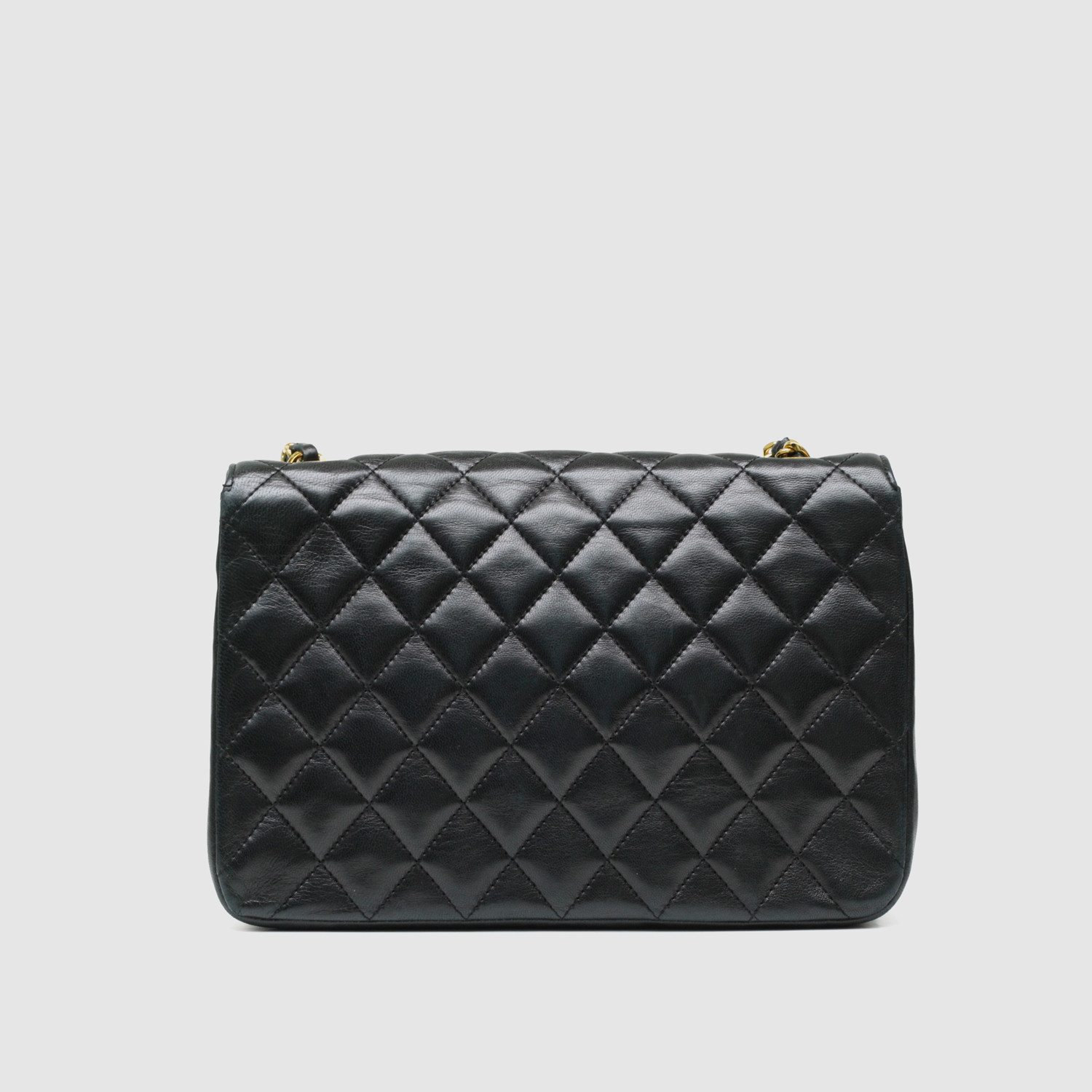 Chanel Small Flap Bag // Black Quilted Lambskin - Vintage Luxury ... : coco chanel quilted handbag - Adamdwight.com