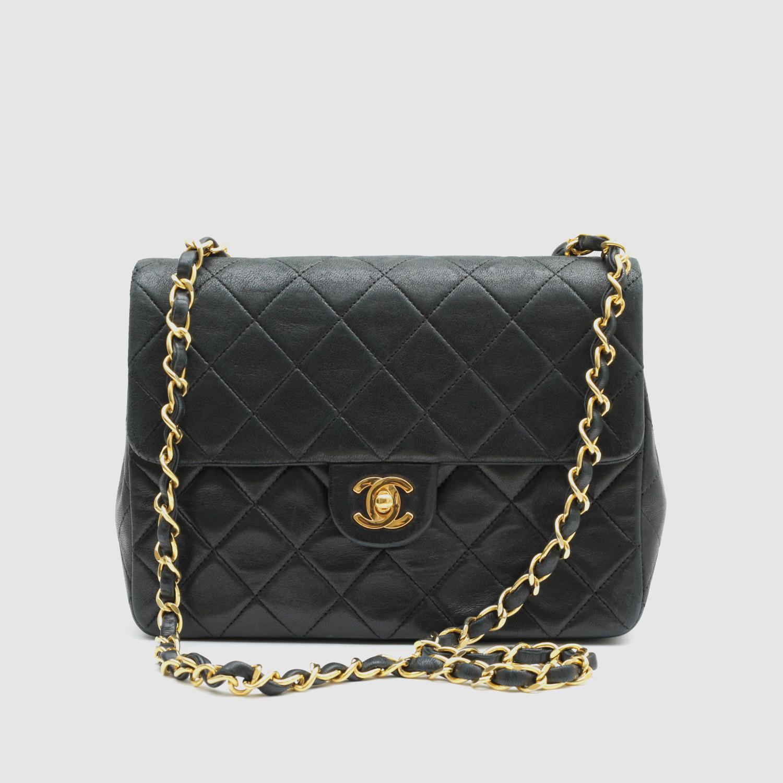 8c0c31de91e3 Vintage Chanel Handbags Usa. Vintage Chanel Small Flap Bag // Black Quilted  Lambskin ...