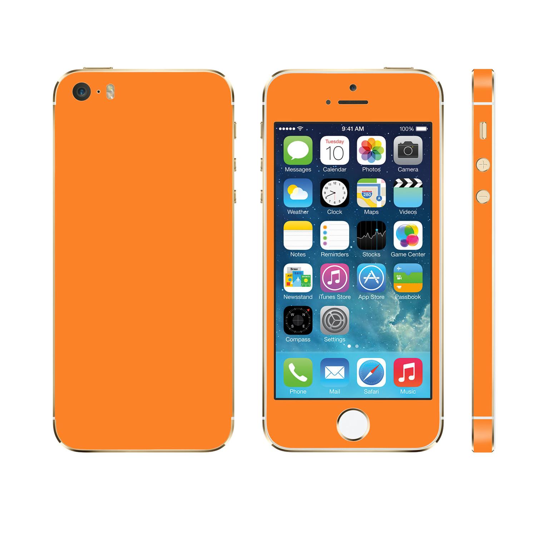 iglow full body wrap vivid orange iphone 5 iglow by. Black Bedroom Furniture Sets. Home Design Ideas