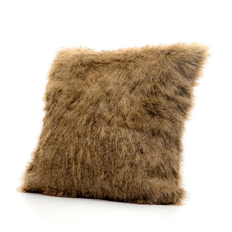 raccoon  pillow cover (cover  insert)  posh pelts  touch of  - raccoon  pillow cover (cover  insert)