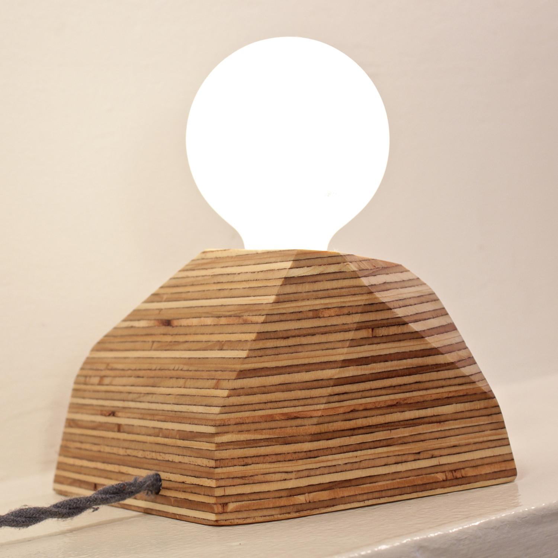 Boulder Lamp (Cord: Red) - Ninoshea Design - Touch of Modern