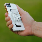 Leverage iPhone 5/5S Case // White, Rose Gold