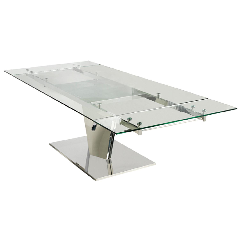 V8 Engine Glass Table: Casabianca Furniture