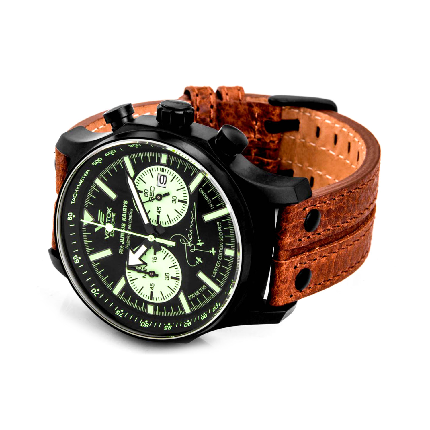 Vostok europe jurgis kairys special edition chronograph watch vostok europe touch of modern for Vostok europe watches