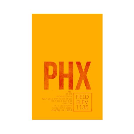 PDX // Portland (Print 12 x 18)