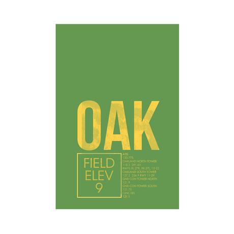 OAK // Oakland (Print 12 x 18)