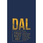 "DAL // Dallas (Print - 12"" x 18"")"