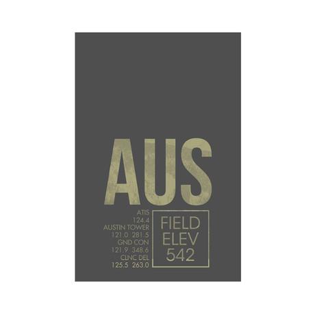 AUS // Austin (Print 12 x 18)