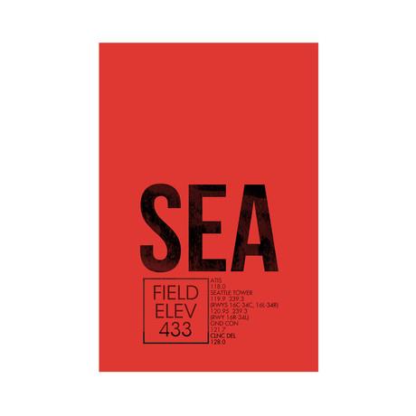 SEA // Seattle (Print 12 x 18)