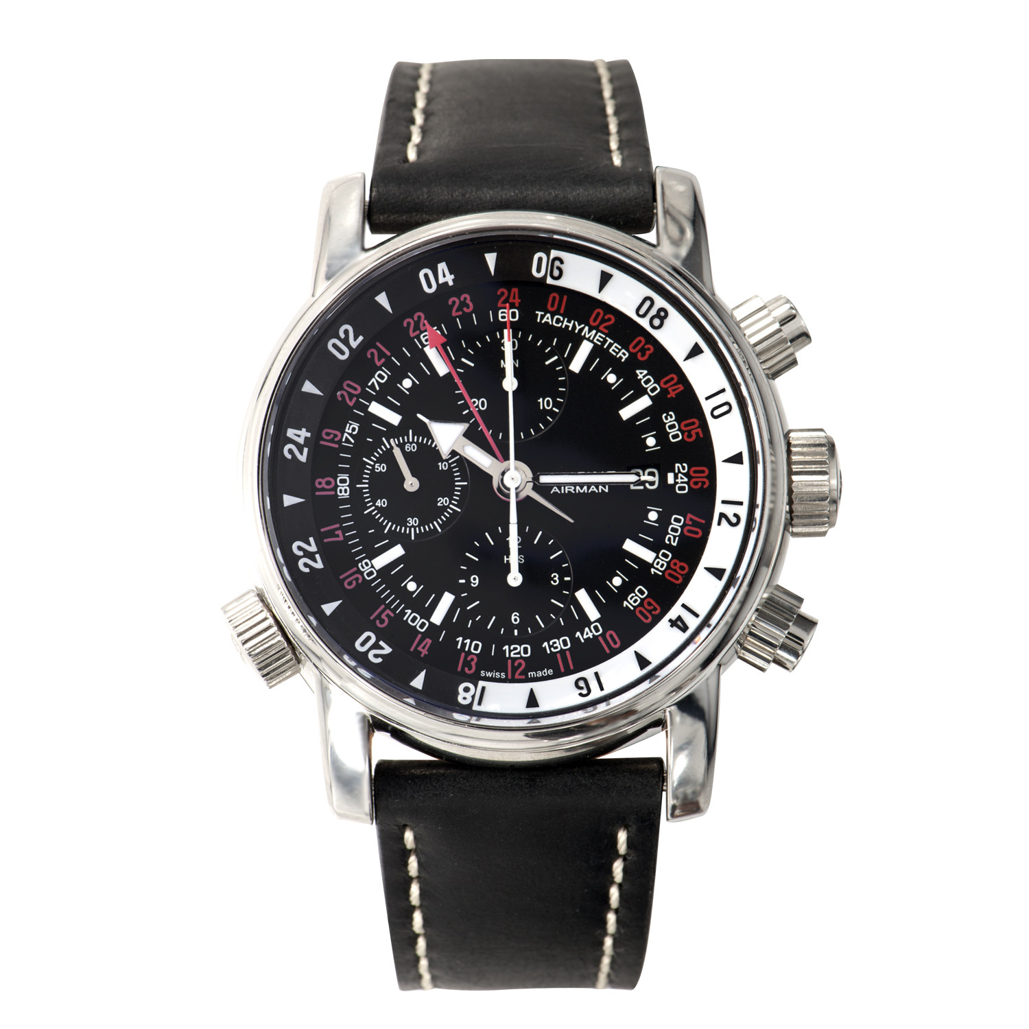 08: Glycine Airman 08 Chrono // GMT Non-Purist Limited Edition