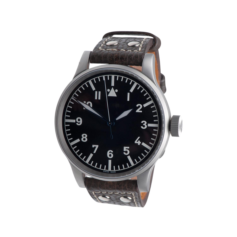 Uhr Modern militare vintage b uhr 48mm black azimuth touch of