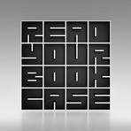 READYOURBOOKCASE Floor Bookshelf // Laminated