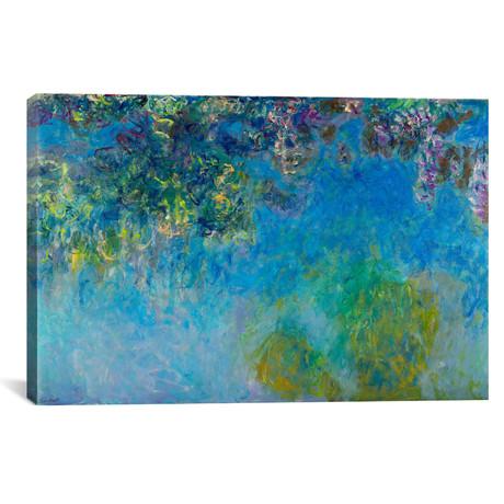 "Wisteria // Claude Monet // 1920 (18""W x 26""H x 0.75""D)"
