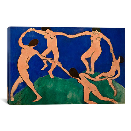 "The Dance I // Henri Matisse (18""W x 12""H x 0.75""D)"