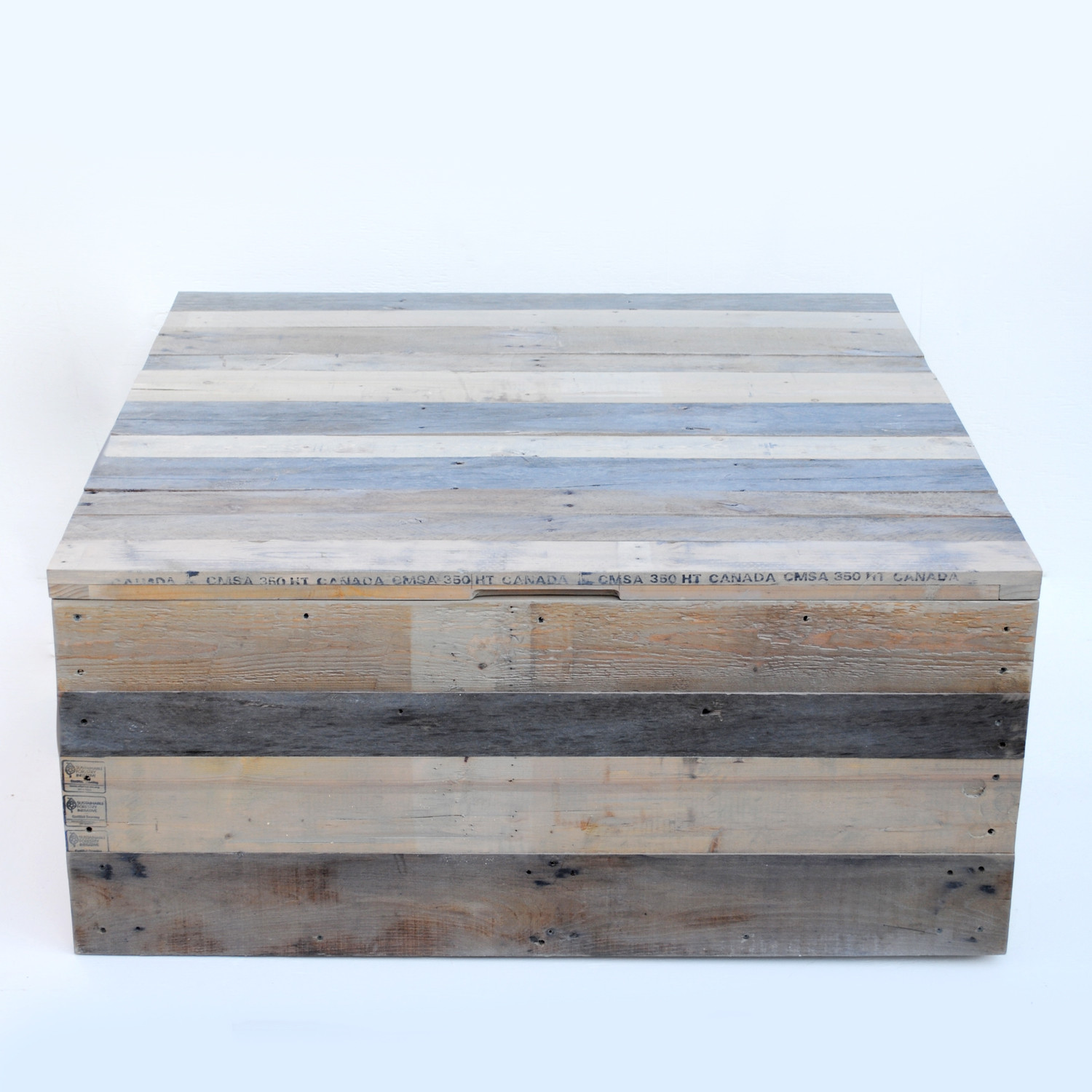 Reclaimed Pallet Coffee Table Trunk Raka Mod Touch of Modern