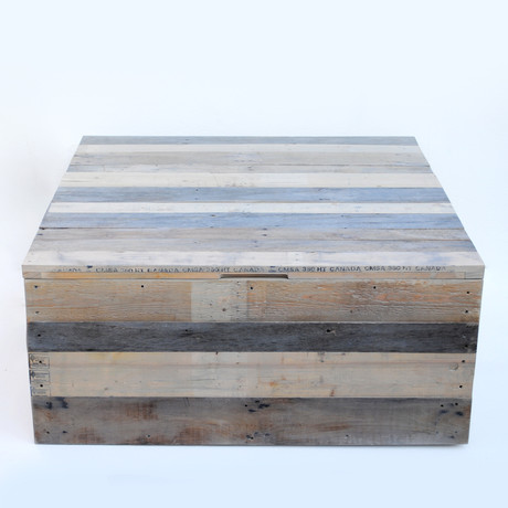 Reclaimed Pallet Coffee Table/Trunk