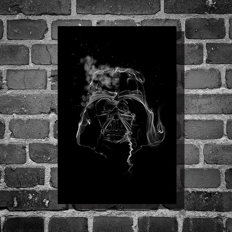 "Star Wars Smoke // Darth Vader (16""L x 12""H)"