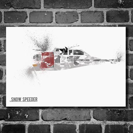 Star Wars Vehicle // Snow Speeder