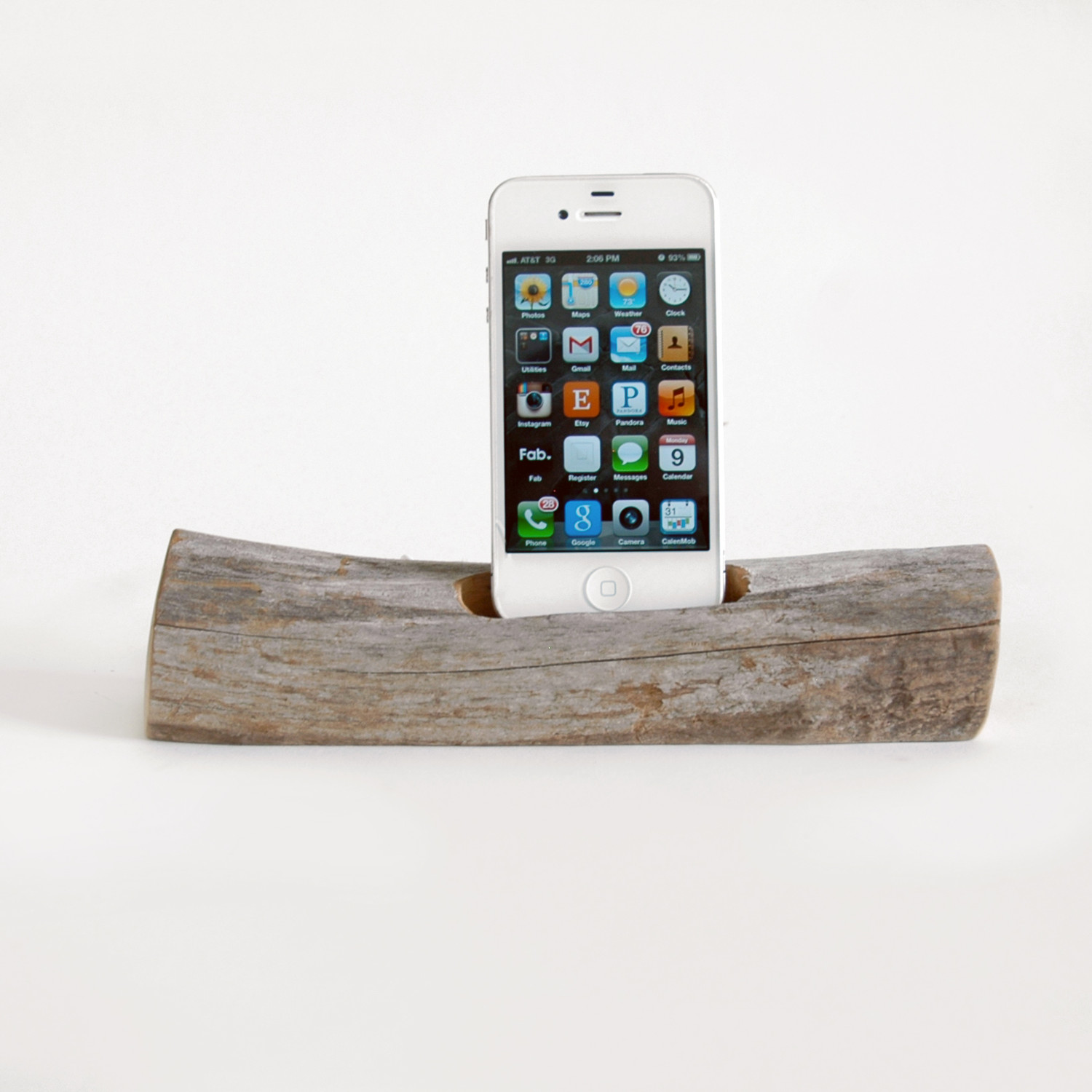 driftwood docking station phone iphone 4 docksmith. Black Bedroom Furniture Sets. Home Design Ideas