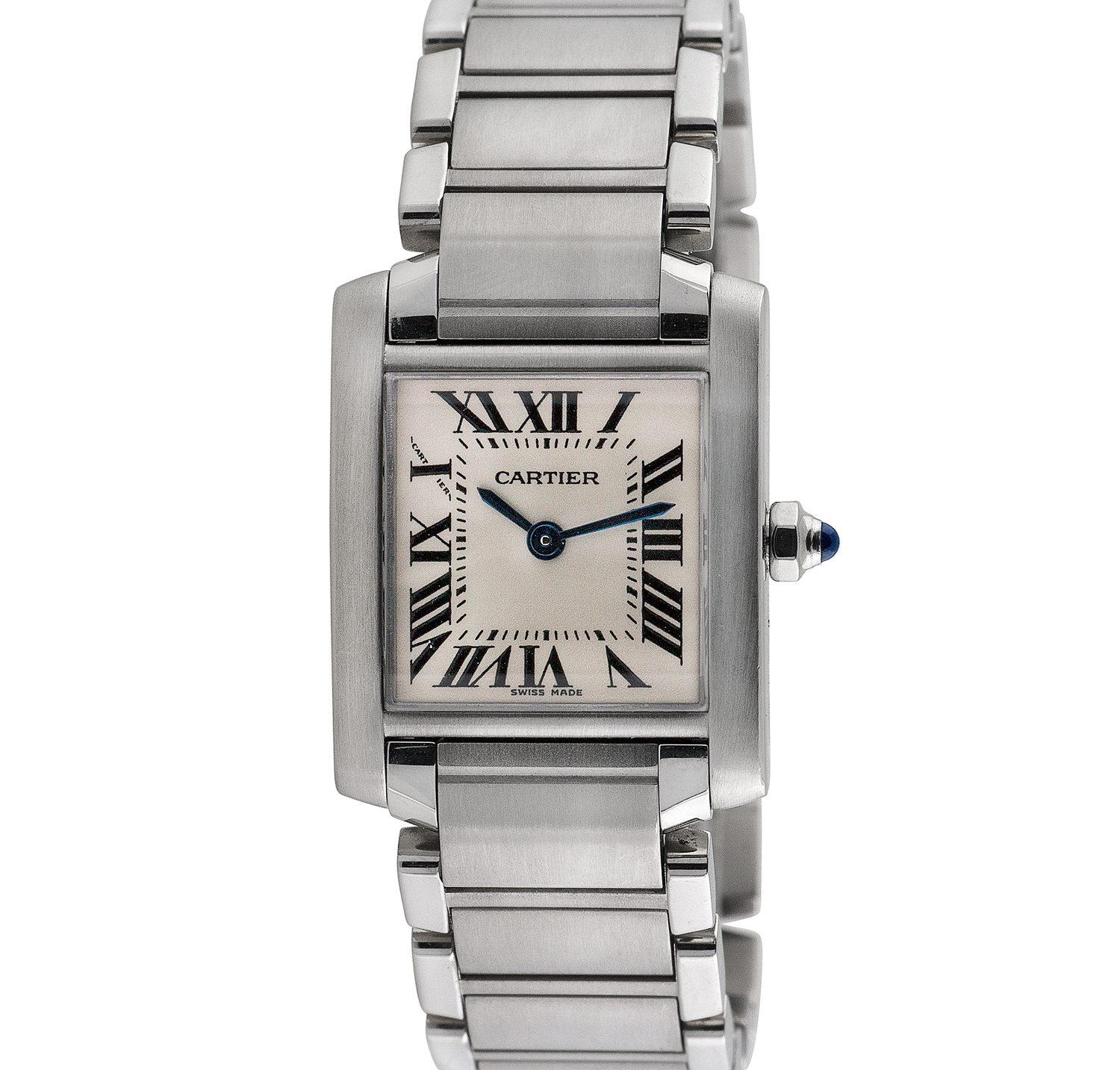 41ae02e9e71b Ladies  Cartier Tank Francaise    c.2000 - Vintage Cartier Watches - Touch  of Modern