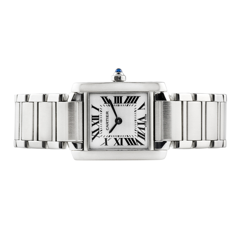 b789dbfc085f Ladies  Cartier Tank Francaise    c.2000 - Vintage Cartier Watches ...
