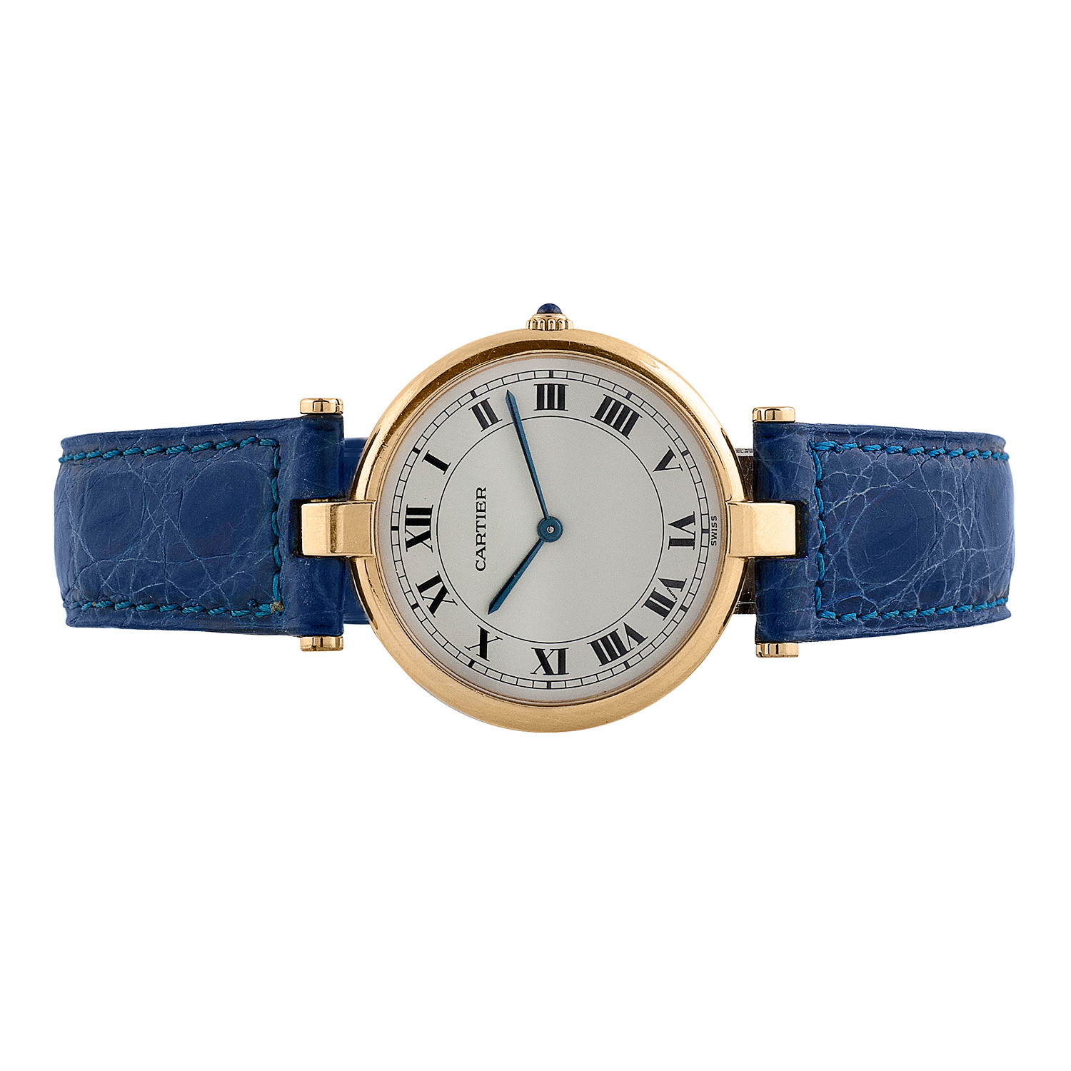 2e4b50e3fdf8 Ladies  Cartier 18K Vendome    c.1980 s - Vintage Cartier Watches ...