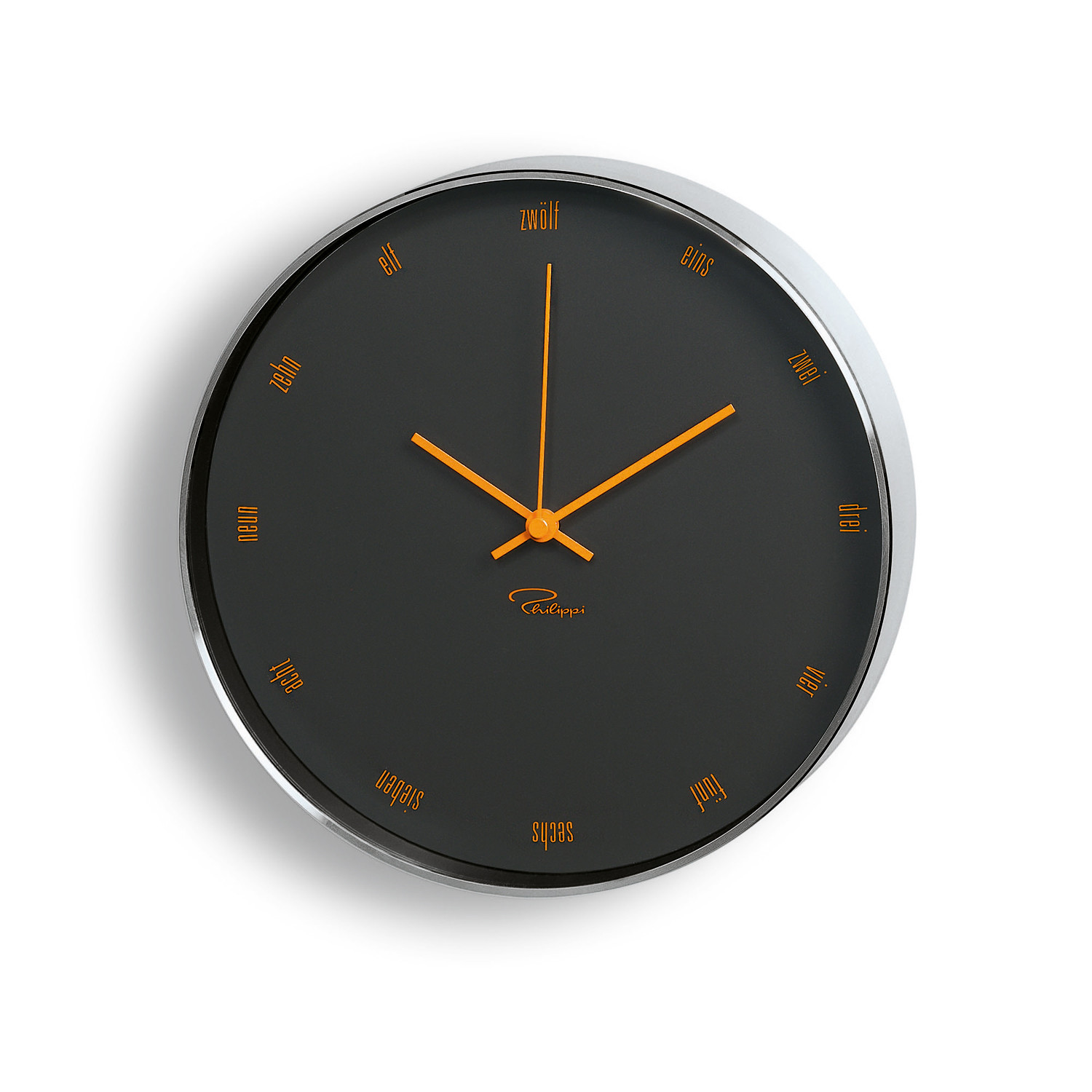 Tempus wall clock italian philippi touch of modern for Touch of modern clock