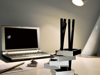 Photo of Philippi Upscale Desk Accessories Zick Zack Pen Holder by Touch Of Modern
