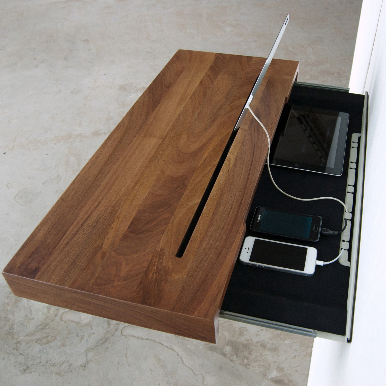 Stage Interactive Shelf Walnut Black Spell Touch