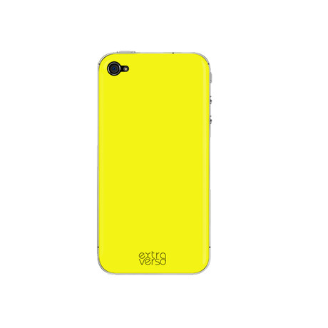 iPhone Case //  Fluo Yellow (iPhone 4/4s)