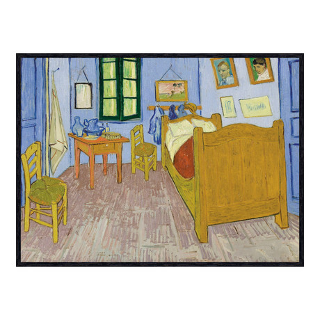 bedroom at arles van gogh touch of modern